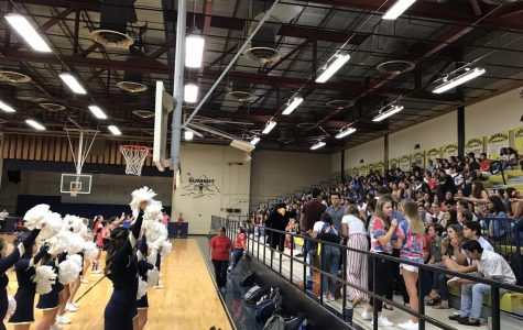 Spirit rally signifies start of football season