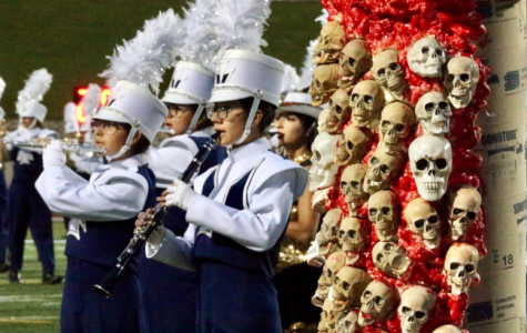 Marching band students compete in Bandtober