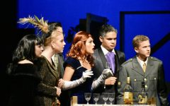 Theater students perform in Clue