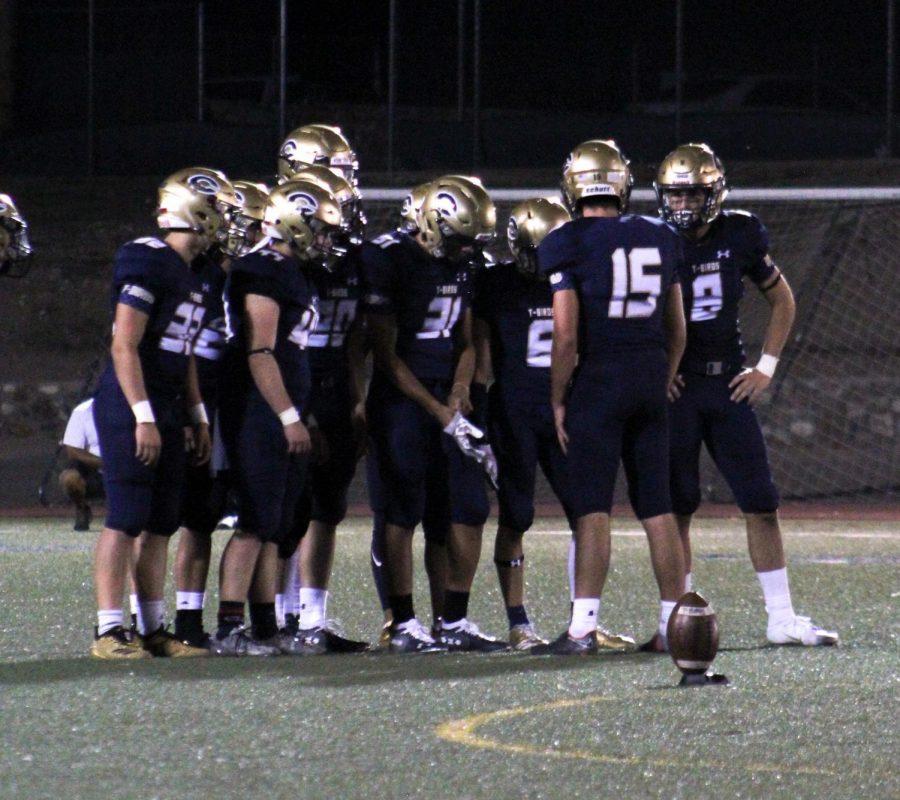 The Coronado varsity football team are preparing for the game against Franklin. PHOTO / DALYN MAIN