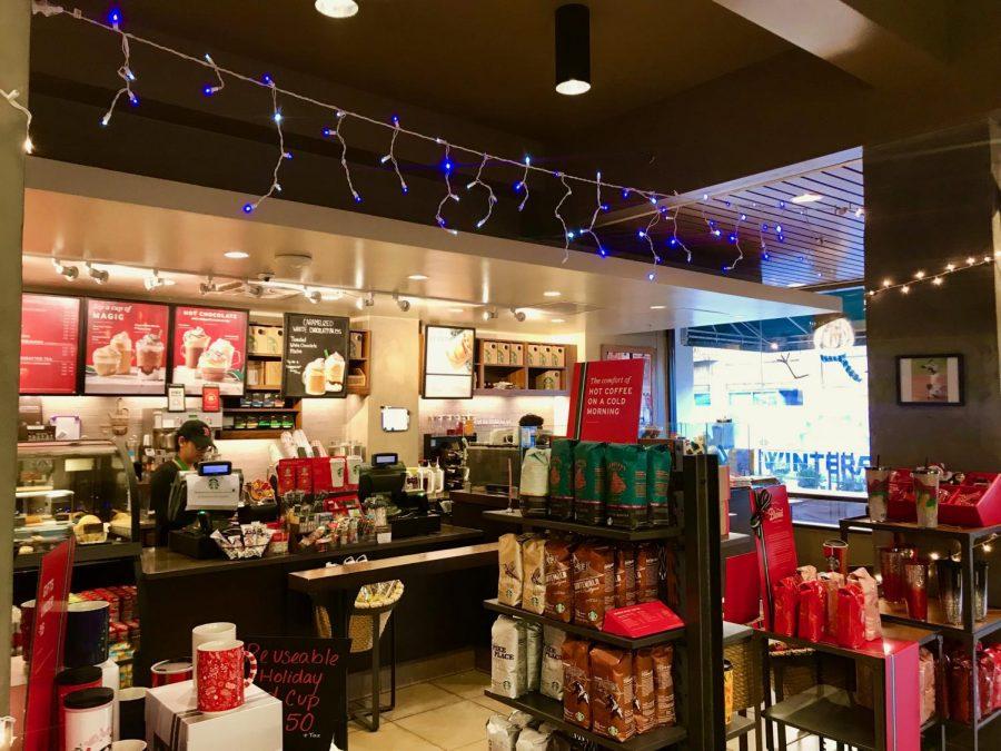 Season's Greetings at Starbucks