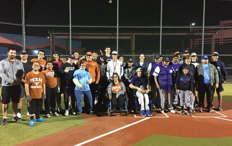 Baseball team lends helping hand