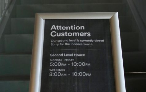 Upstairs Shutdown in Whole Foods