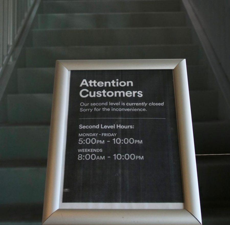 Upstairs Shutdown in Whole Foods