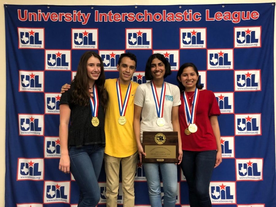 Coronado students take home gold at UIL