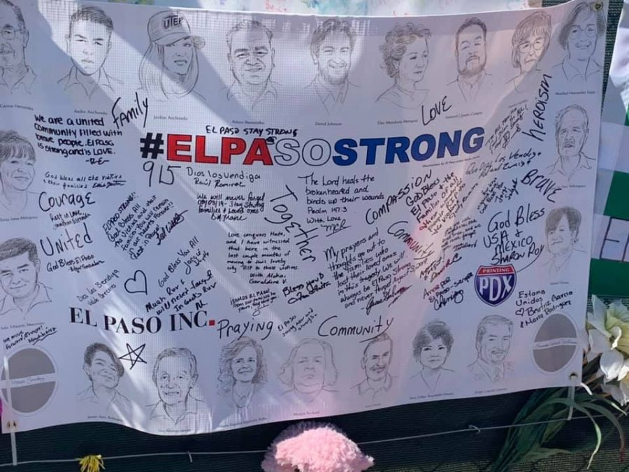 Outside of the Cielo Vista Walmart, El Pasoans and others from around the country built touching memorials for the 22 victims of the Aug. 3 mass shooting.