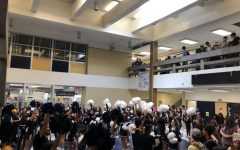 First Pop-Up Pep Rally