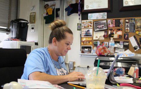 Talented new teachers like Mrs. Rystad joined the Coronado staff this August.
