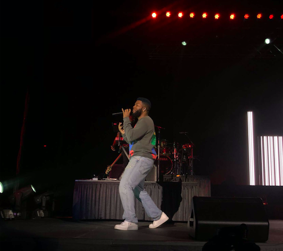 Khalid, an artist who identifies as a proud El Pasoan, donated the proceeds of his concert to the El Paso Victims' Fund.