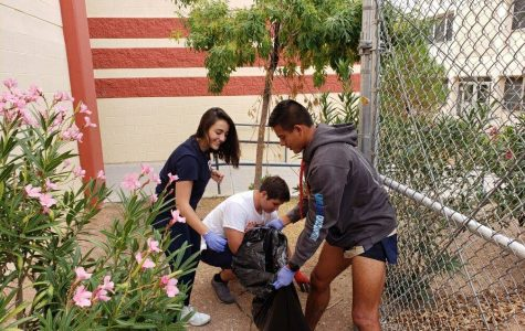 Student Council's campus cleanups are a perfect example of how community service benefits both the students and those around them.