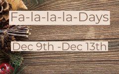 First Fa-la-la-la-days to spread holiday cheer