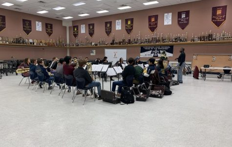 The Coronado Jazz Band practices early in the morning to fine-tune their skills.