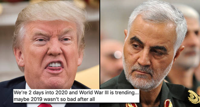 Memes and videos have gone viral making jokes about the conflict with Iran.