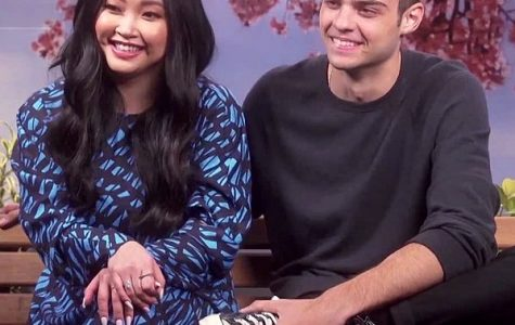 'To All the Boys: P.S. I Still Love You' received international attention. Here, stars Lana Condor and Noah Centineo are interviewed in Brazil.