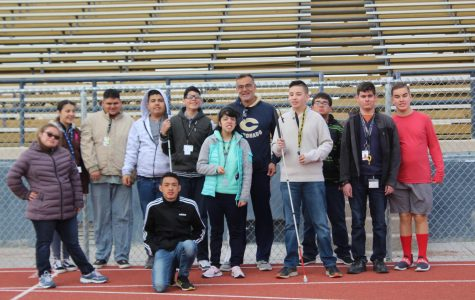 12 students from Coronado are training for the Special Olympics on March 4.