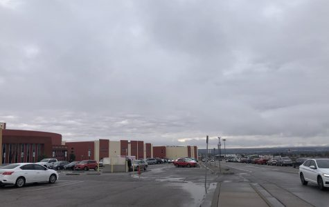 A cloudy day at the campus is gloomy in appearance to some but is a beautiful sight to others.