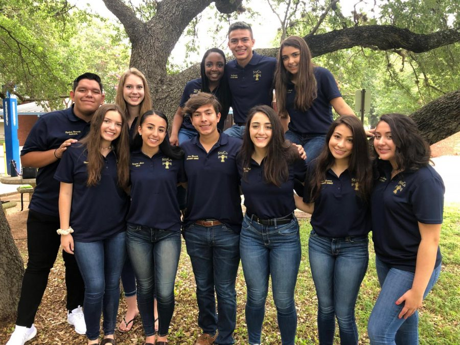 2019-2020 officers will continue to serve out their positions for the remainder of the year, but elections are being held to decide who will lead during the 2020-2021 school year.