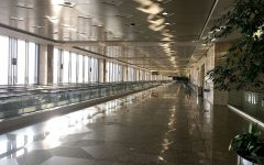 The DMM Airport in Saudi Arabia is empty, much like airports around the world as a host of travel restrictions are meant to stop the spread of COVID-19.