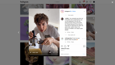 A controversial comment found on the Instagram page of a popular music artist, Troye Sivan, sparks conflicts with other users.