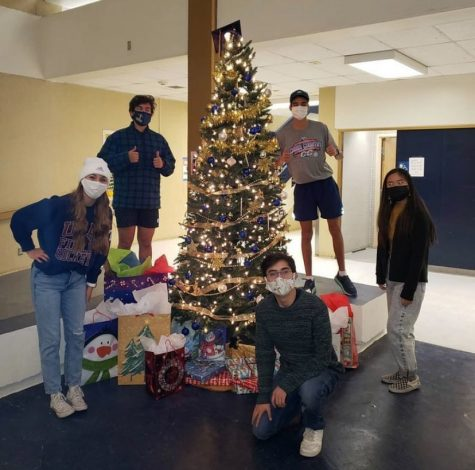 Student Council found ways to bring the holiday spirit to the community, such as decorating the Christmas trees on campus. The most impactful holiday event might be Holiday Blessings, in which they sent gifts to children during an unusual year.