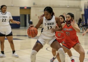 Senior Heavyn Proctor was named the girls varsity basketball team player of the week recently.