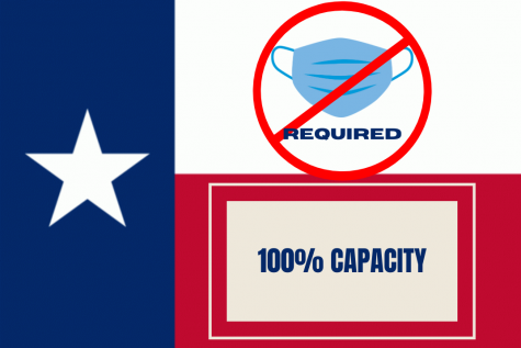 Governor Greg Abbott ended the mask mandate and removed business capacity restrictions at the state level. Businesses and other entities can still choose to enforce mask mandates or capacity restrictions on their property.