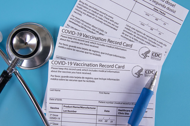 COVID-19 vaccine cards contain personal information and verify that a person has been immunized against the virus. Consequently, storing the card safely and refraining from posting it on social media is critical.