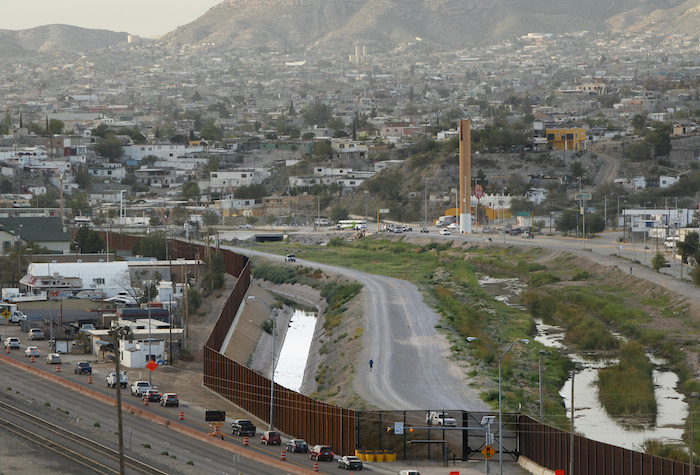 The border remains ever present in the ongoing activities and lives of the two cities.