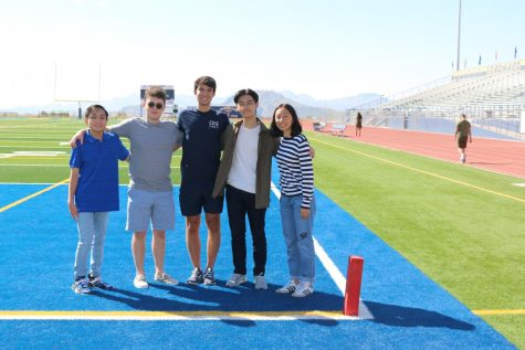 The five students are the only ones in the El Paso Independent School District to receive the honor, and all come from Coronado.